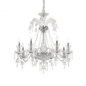 Mathew 8 Light Chrome Crystals Chandelier E2-51291