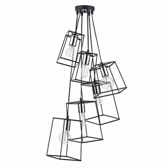 Alton Light Black Chrome Pendant E