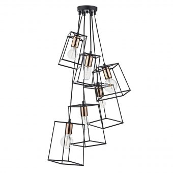 Alton Light Black Copper Pendant E