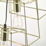 Alton Light Gold Pendant E