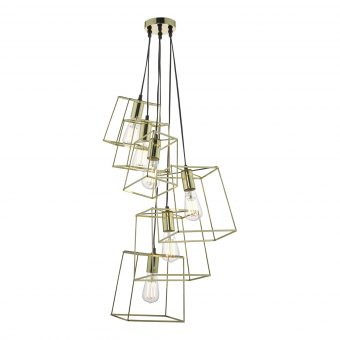 Alton Light Gold Pendant E