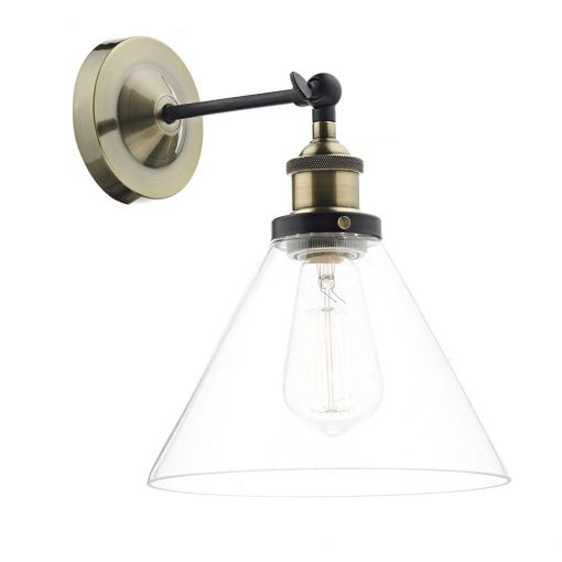 Cotswold Light Antique Brass Wall E