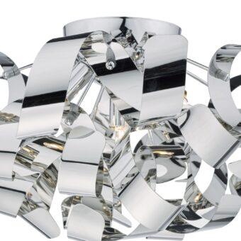 Crysler Light Polished Chrome Flush E