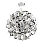 Crysler Light Polished Chrome Pendant E