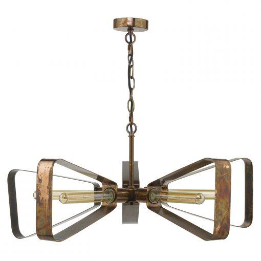 Mill Light Oiled Copper Pendant E