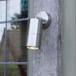 Freemont Light Polished Chrome Exterior Wall Light E