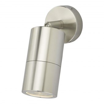 Freemont Light Polished Chrome Exterior Wall Light E