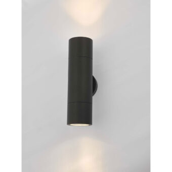 Freemont Light Black Exterior Wall Light E