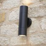 Freemont Light Black Exterior Wall Light E