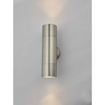 Freemont Light Polished Chrome Exterior Wall Light