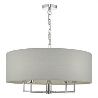 Furtado-5-Light-Polished-Chrome-Pendant-Light-E2-40325