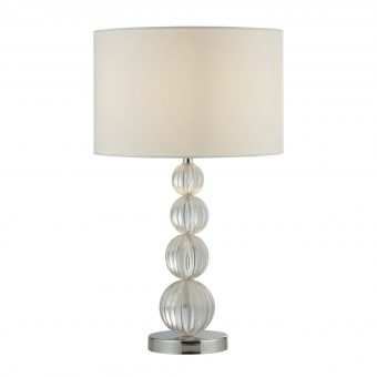 Acrylic-Balls-Table-Lamp-with-White-Shade-E2-51392
