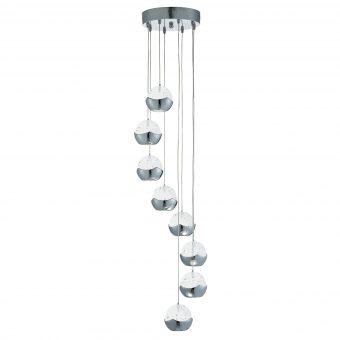 Bubble-Glass-8-Light-Pendant-E2-51325