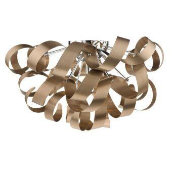 Crysler-5-Light-Brushed-Copper-Flush-E2-32045