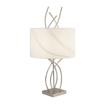 Flame-Silver-Table-Lamp-with-White-Shade-E2-51388
