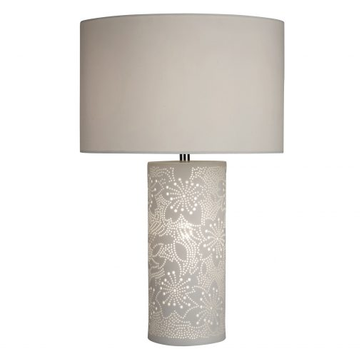 Flower-Pattern-Table-Lamp-with-White-Shade-E2-51397