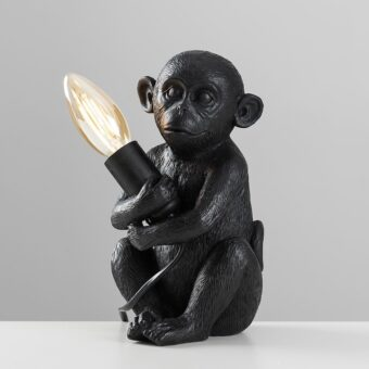Monkey-1-Light-Black-Table-Lamp-E2-24887-3