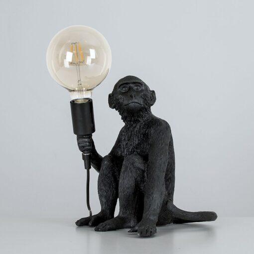 Monkey-1-Light-Black-Table-Lamp-E2-38945-3