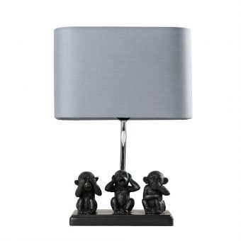 Monkey-1-Light-Black-Table-Lamp-E2-40810-1