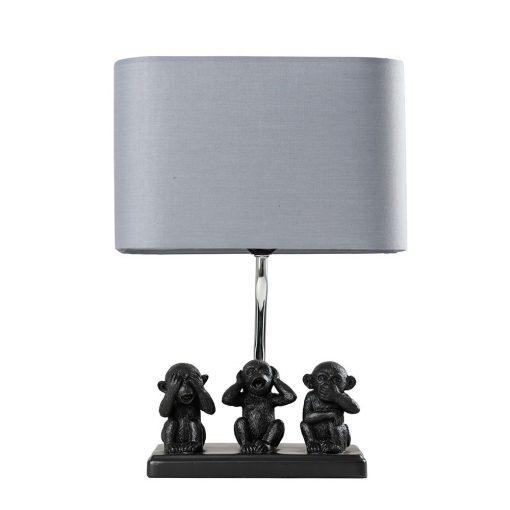 Monkey-1-Light-Black-Table-Lamp-E2-40810-1