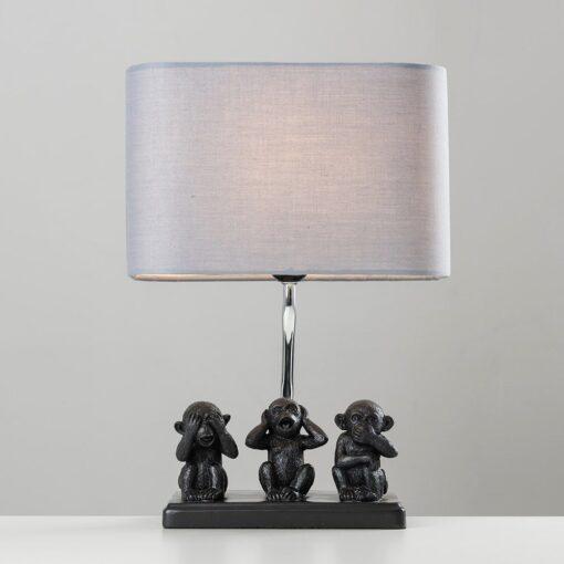 Monkey-1-Light-Black-Table-Lamp-E2-40810-2
