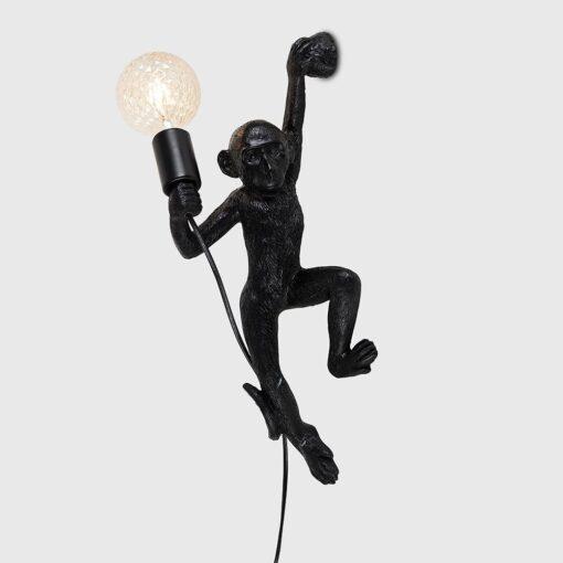 Monkey-1-Light-Black-Wall-Light-E2-41303-2