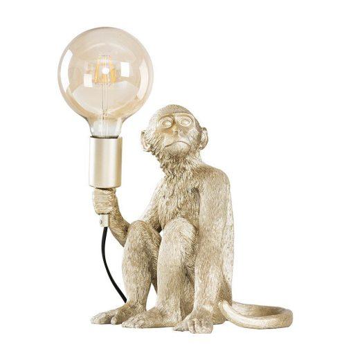 Monkey-1-Light-Champagne-Silver-Table-Lamp-E2-39809-1