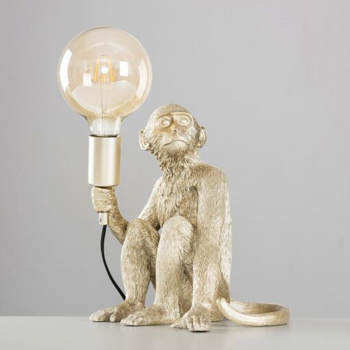 Monkey-1-Light-Champagne-Silver-Table-Lamp-E2-39809-3