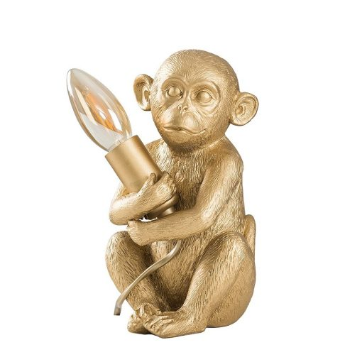 Monkey-1-Light-Gold-Table-Lamp-E2-39811-1