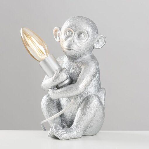 Monkey-1-Light-Silver-Table-Lamp-E2-39811-2
