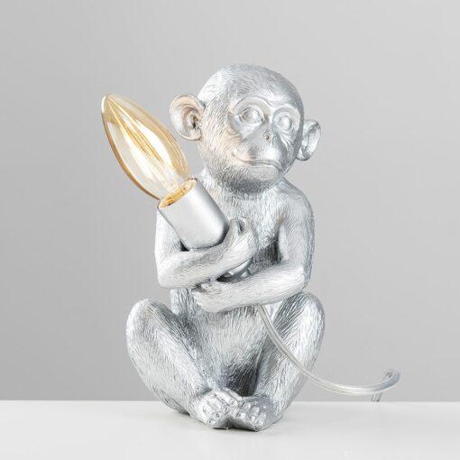 Monkey-1-Light-Silver-Table-Lamp-E2-39811-3