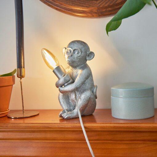 Monkey-1-Light-Silver-Table-Lamp-E2-39811-5